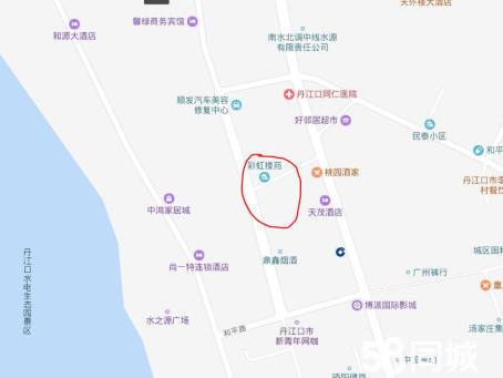丹江口彩虹楼宛3室2厅2卫136平米