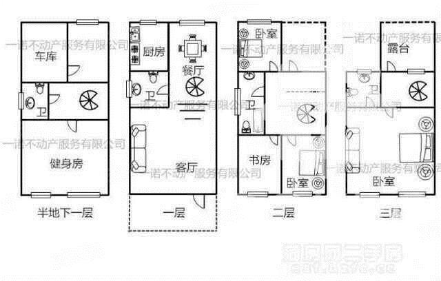 欣欣家园别墅,地上三层。278平方带院320万