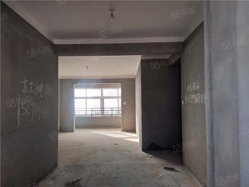 天明城毛坯大三房毛坯124平方有证可按揭仅售75万