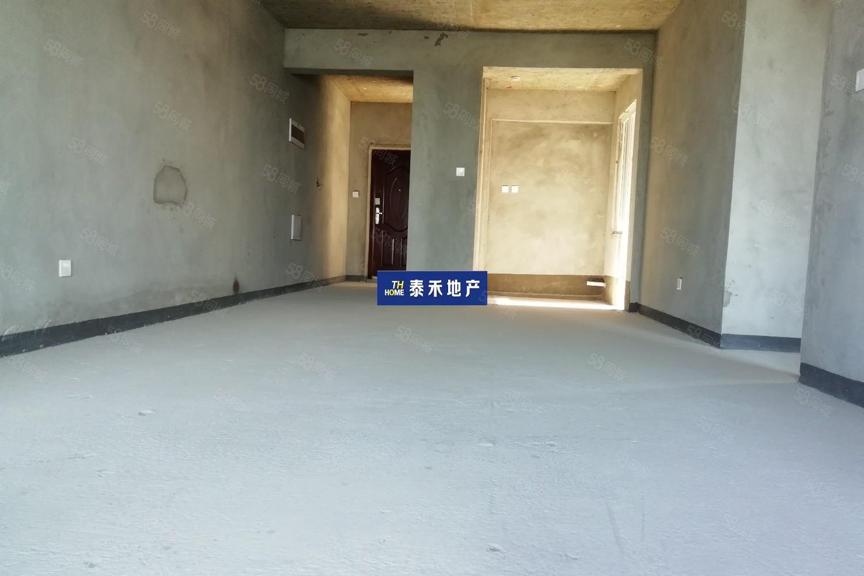 金橋新區天鵝湖每個房間都能看江的戶型帝王朝向方正大氣