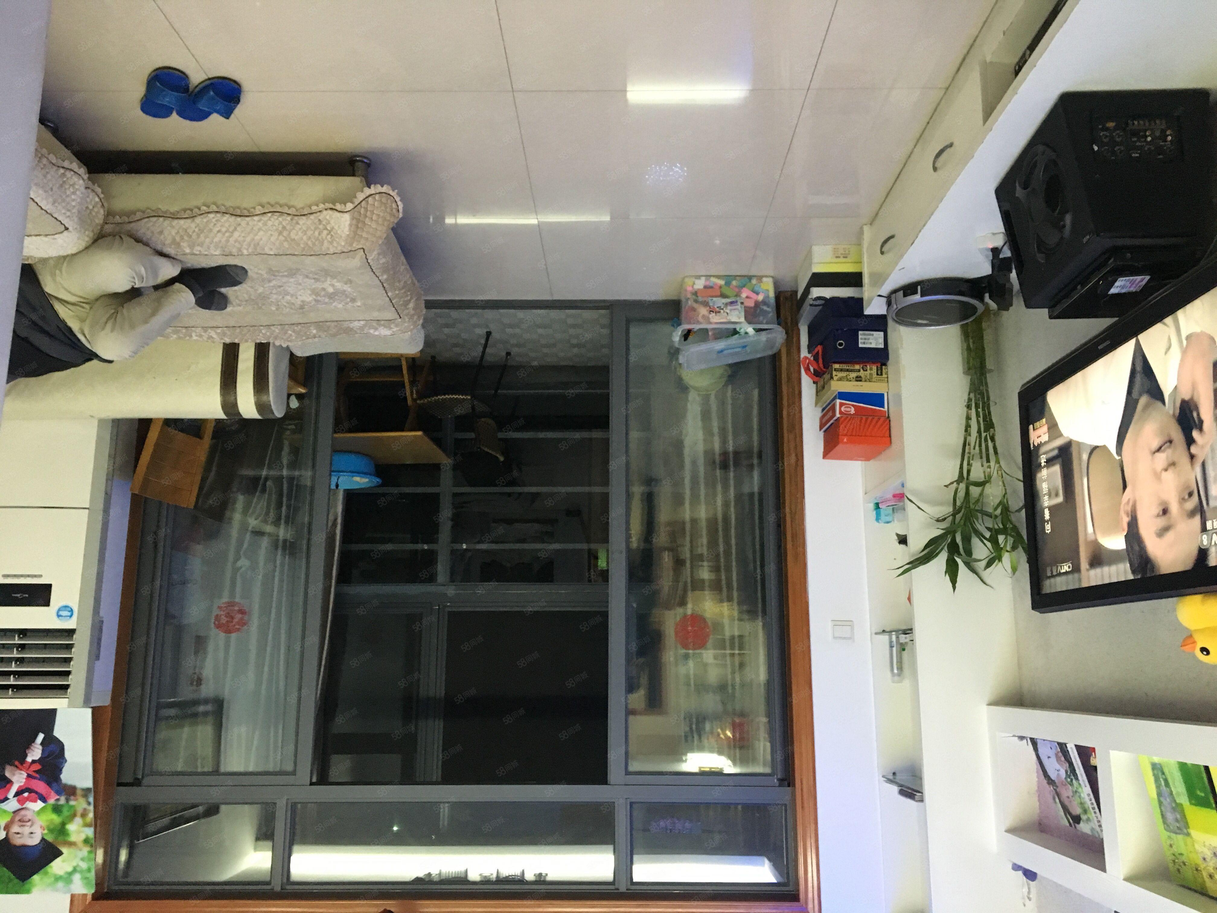 实图在售!三叉街地铁口莱茵城,电梯2.5房,通透双阳台可落户