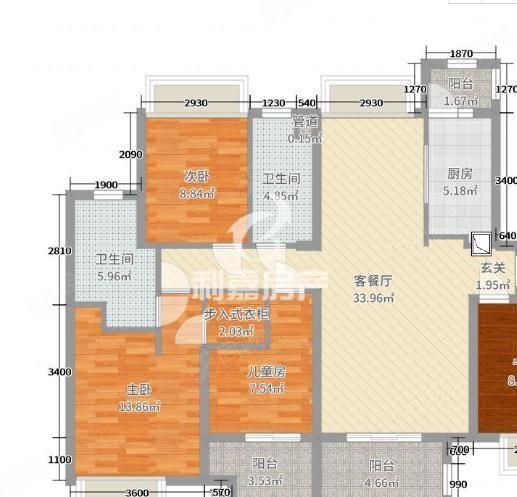 市中心,万达华城刚需三房电梯高层,房东诚意出售,单价超低。