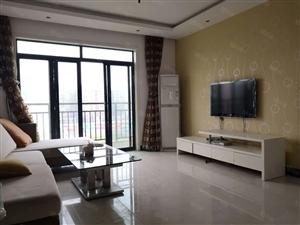 汉水名城北区电梯房精装2室,有证满二可按揭,送家具家电带暖气