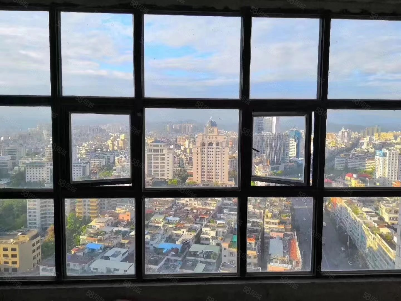 正点房源人民广场和谐港湾高层165平有契8900元一平可按揭