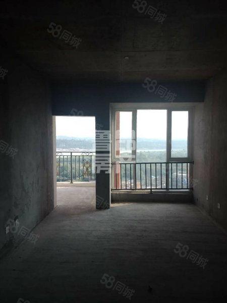 金桥新区仁湖花园全江景房居家三室采光好业主诚心出售