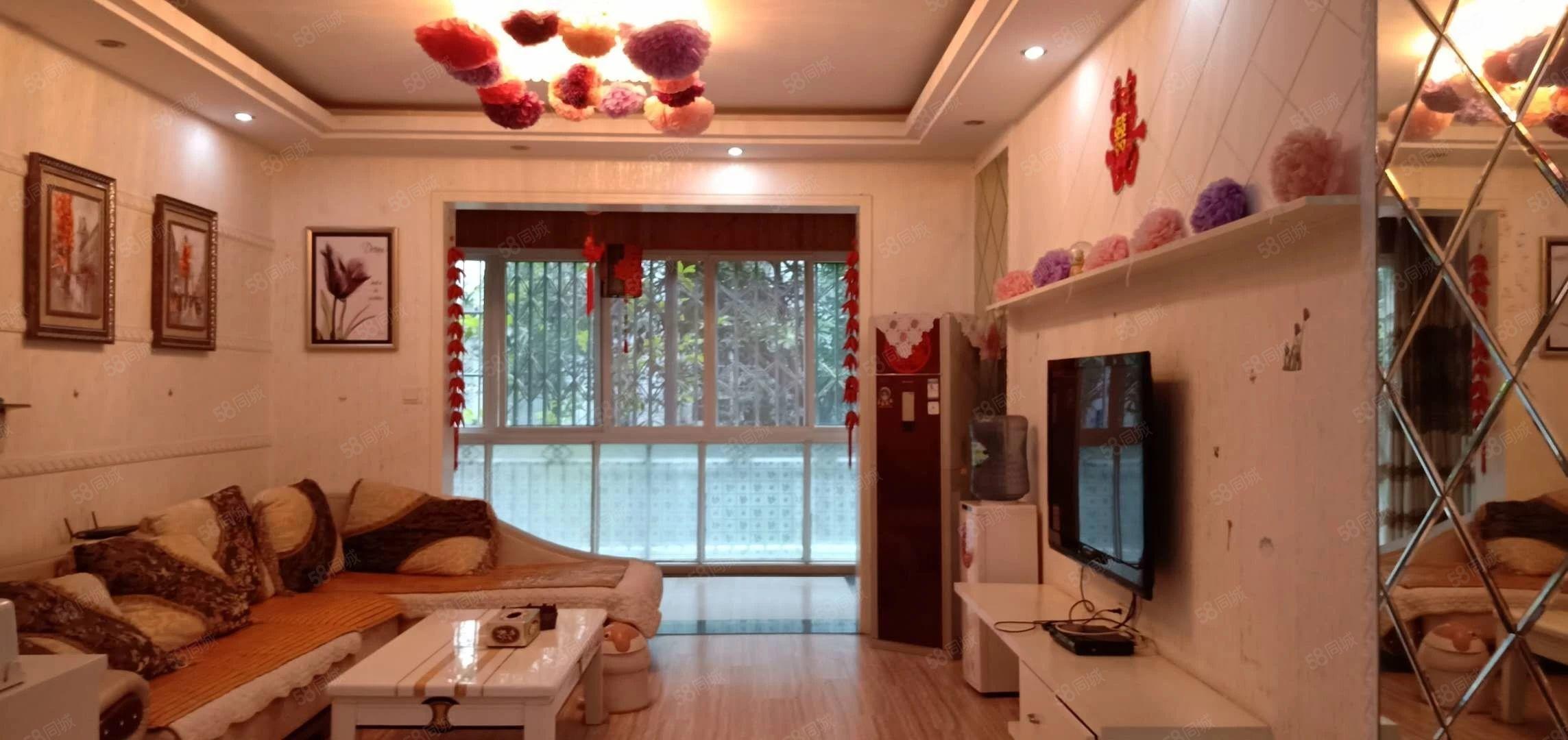 蓬城印象现浇房1楼比地高1米,豪装家电齐全,拎包入住欢迎看房