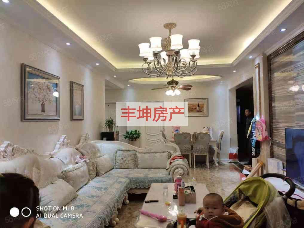 中交濱江國際,3室精裝修產權清晰可按揭,臨包入住隨時看房