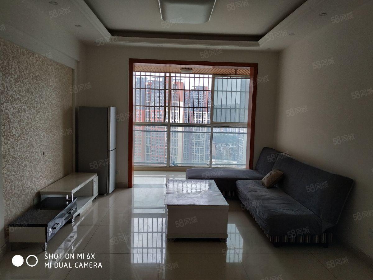 温江中学对面,精装套二家具家电齐,拎包入住,可看房