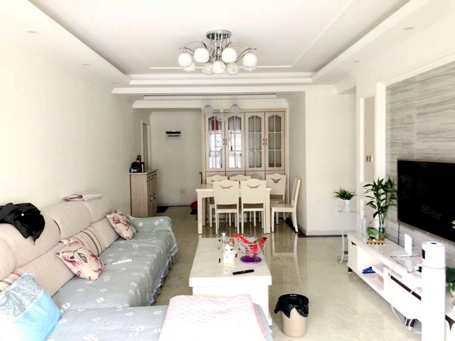 紫荆城震后电梯中层住家装修视野开阔采光透亮可按揭贷款
