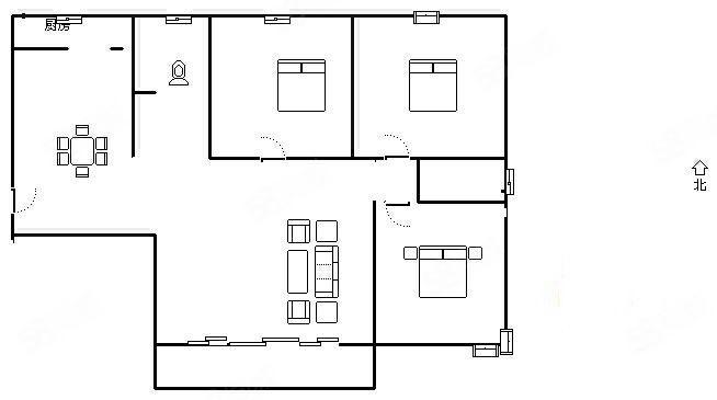 东城国际精致三室可公积金按揭单价便宜