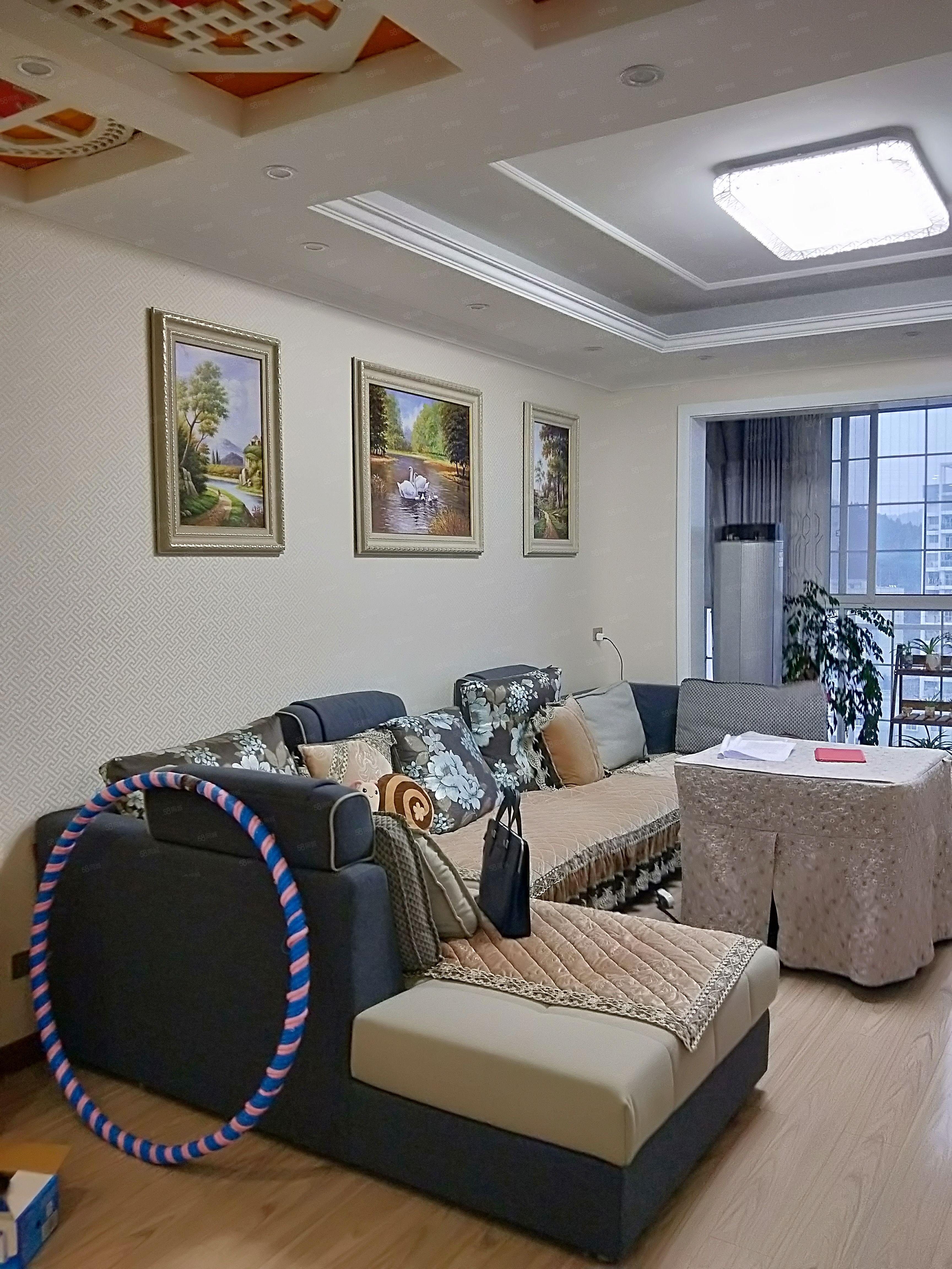 亿嘉房产中介峰邻天下精装修4室2厅2卫带生活阳台出售