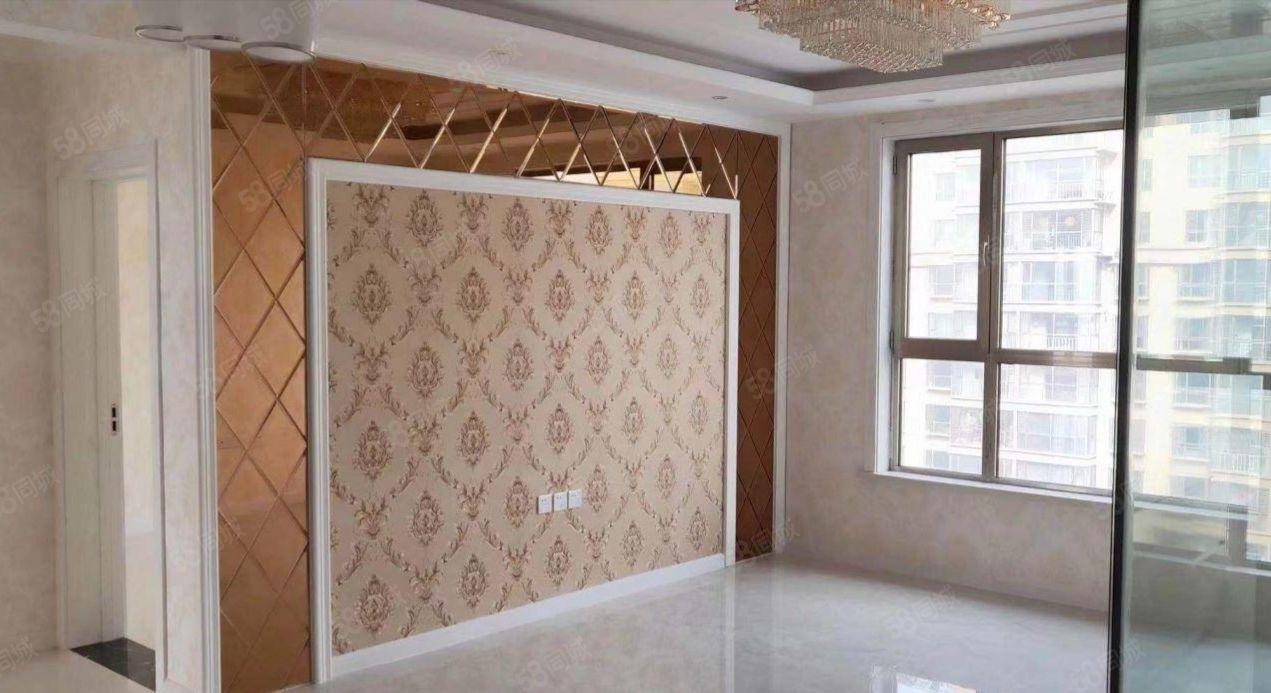 世界公館100平兩居室豪華歐式裝修,無需過戶直簽合同僅此一套