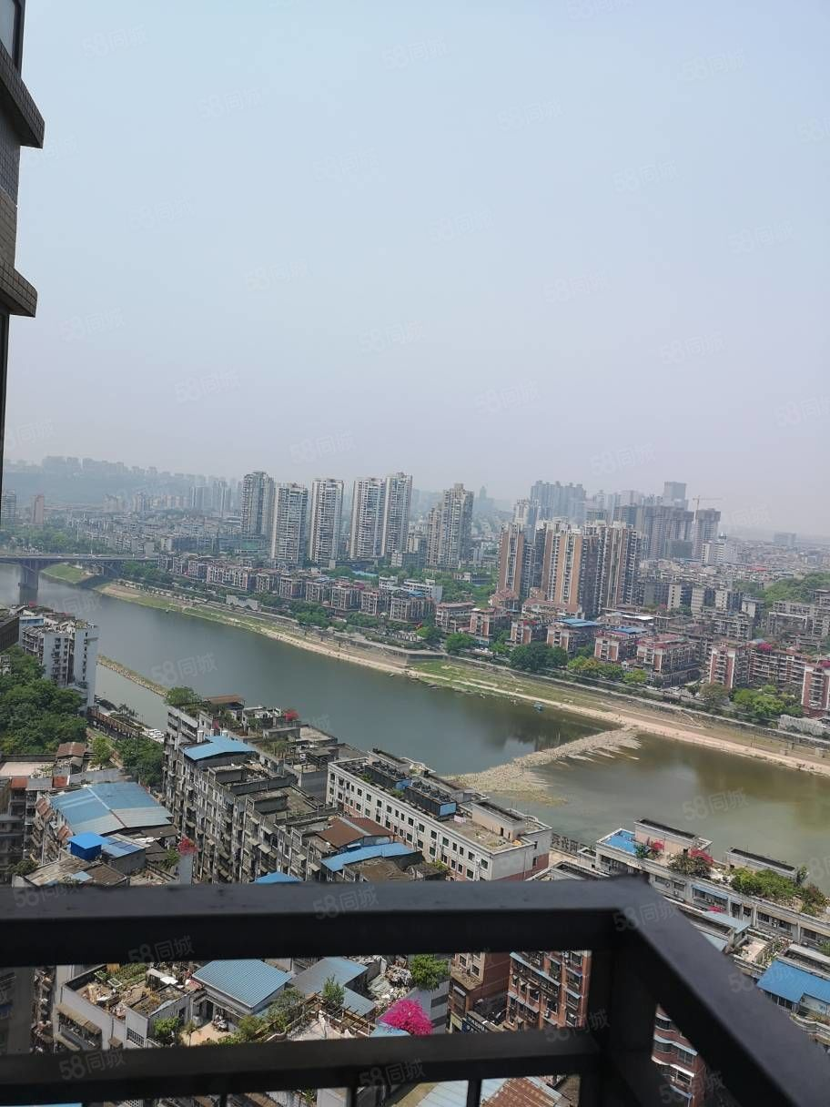 市中心钟鼓世家正看江看沱江和长江视线好学位房