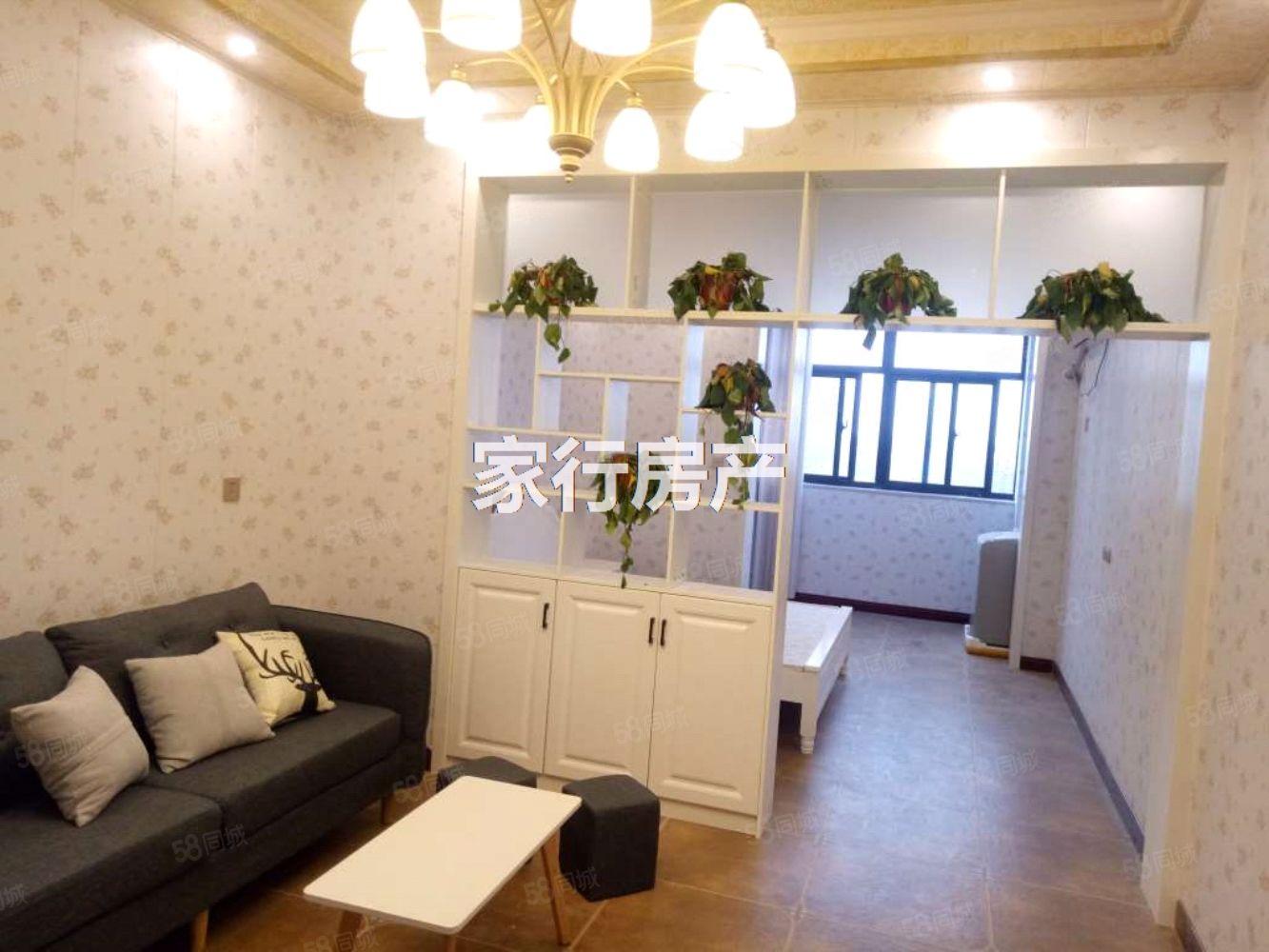 金色东方精装公寓出租家具家电齐全拎包住随时看房有钥匙