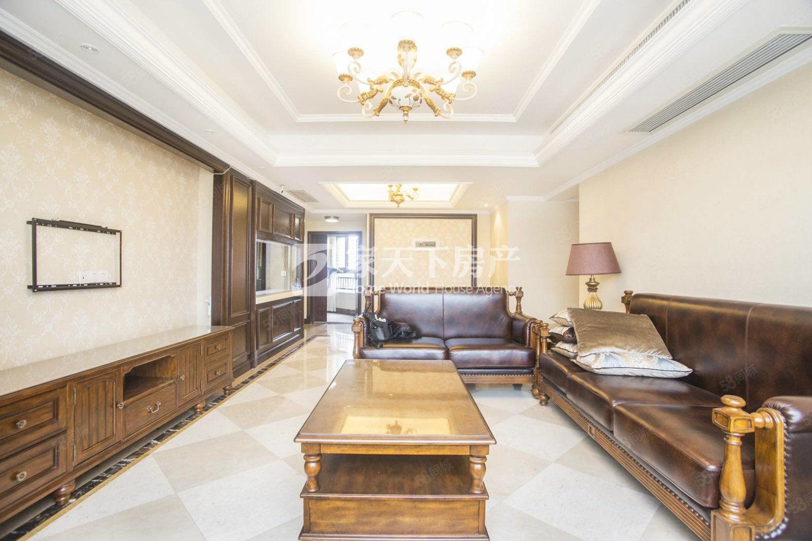 实价可看房,泰禾红树林,东头全明结构,户型方正,全新装全江景