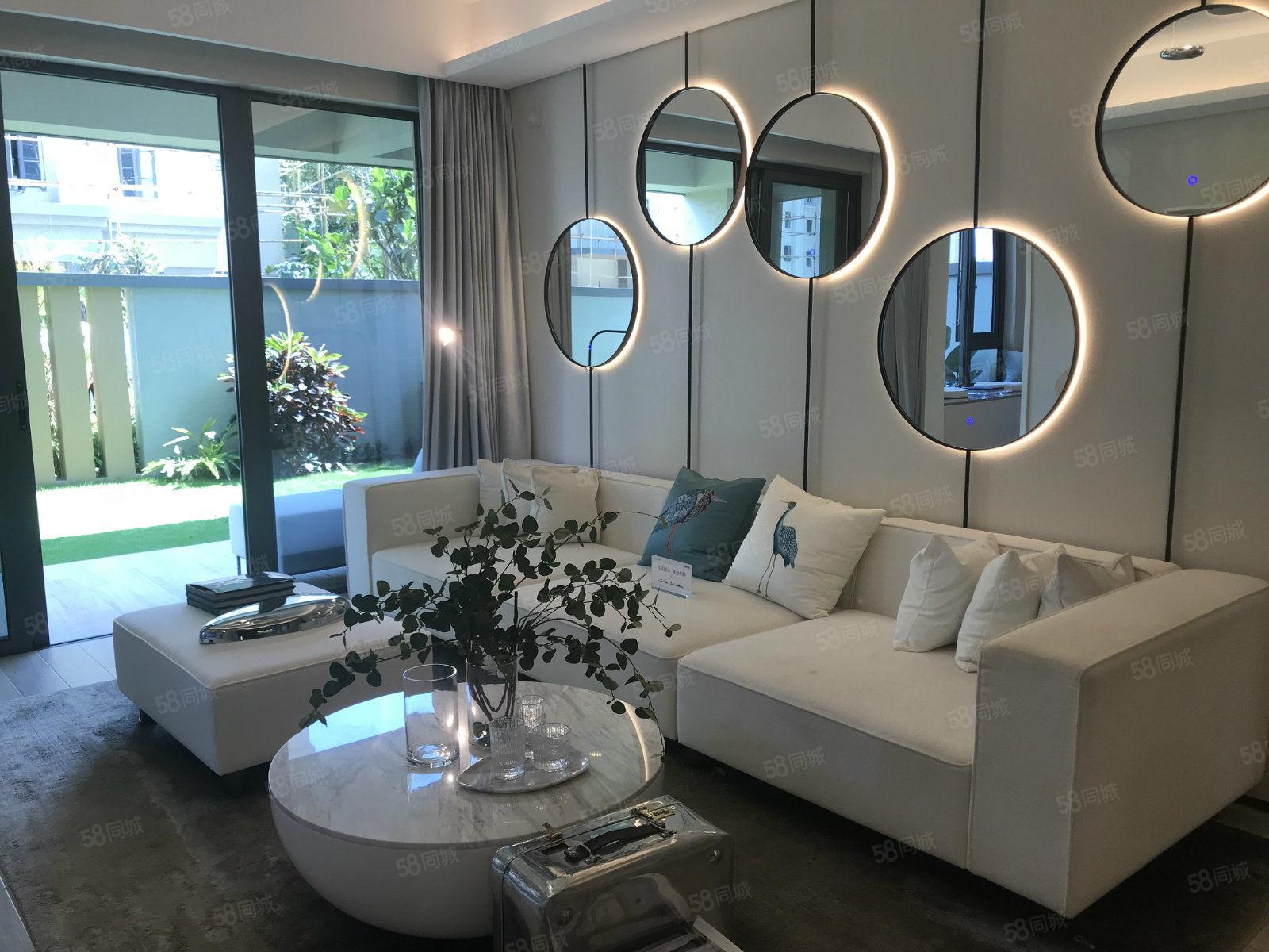海南臻园赠40平方超大花园103室内使用面积超高绿化!