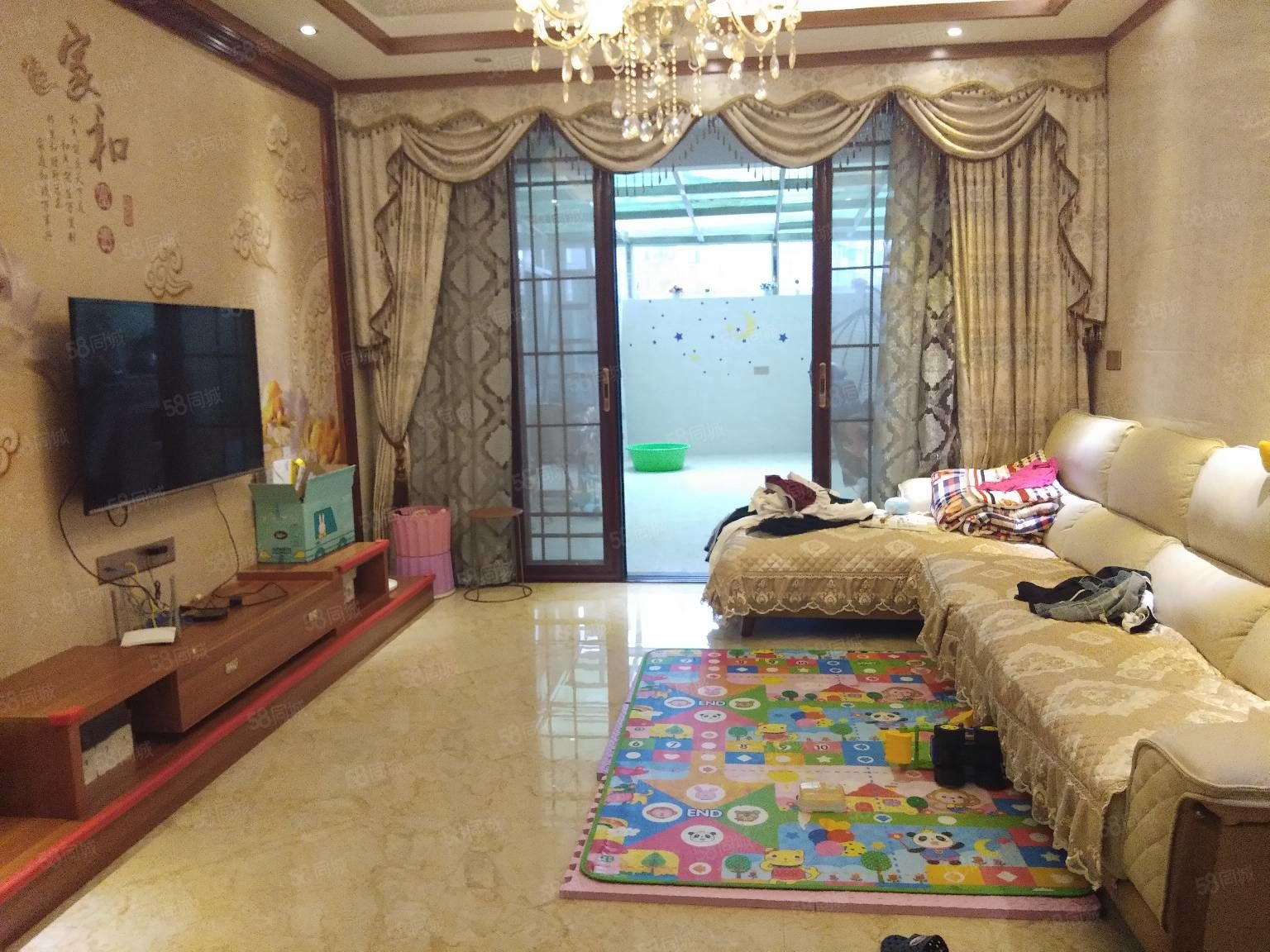 城东豪门世嘉精装3房2厅2卫三面采光带露台