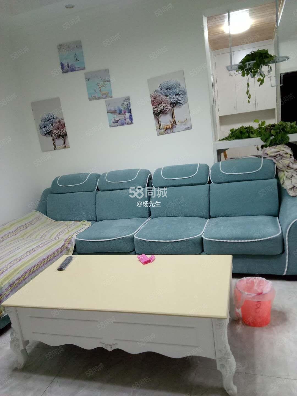河东康城国际精装修2房全新装修首次出租环境好出行方便