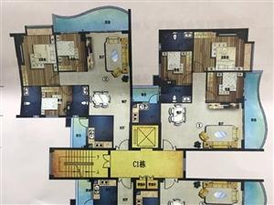 金桂花园三房两厅两卫刚需户型电梯成熟地段之上