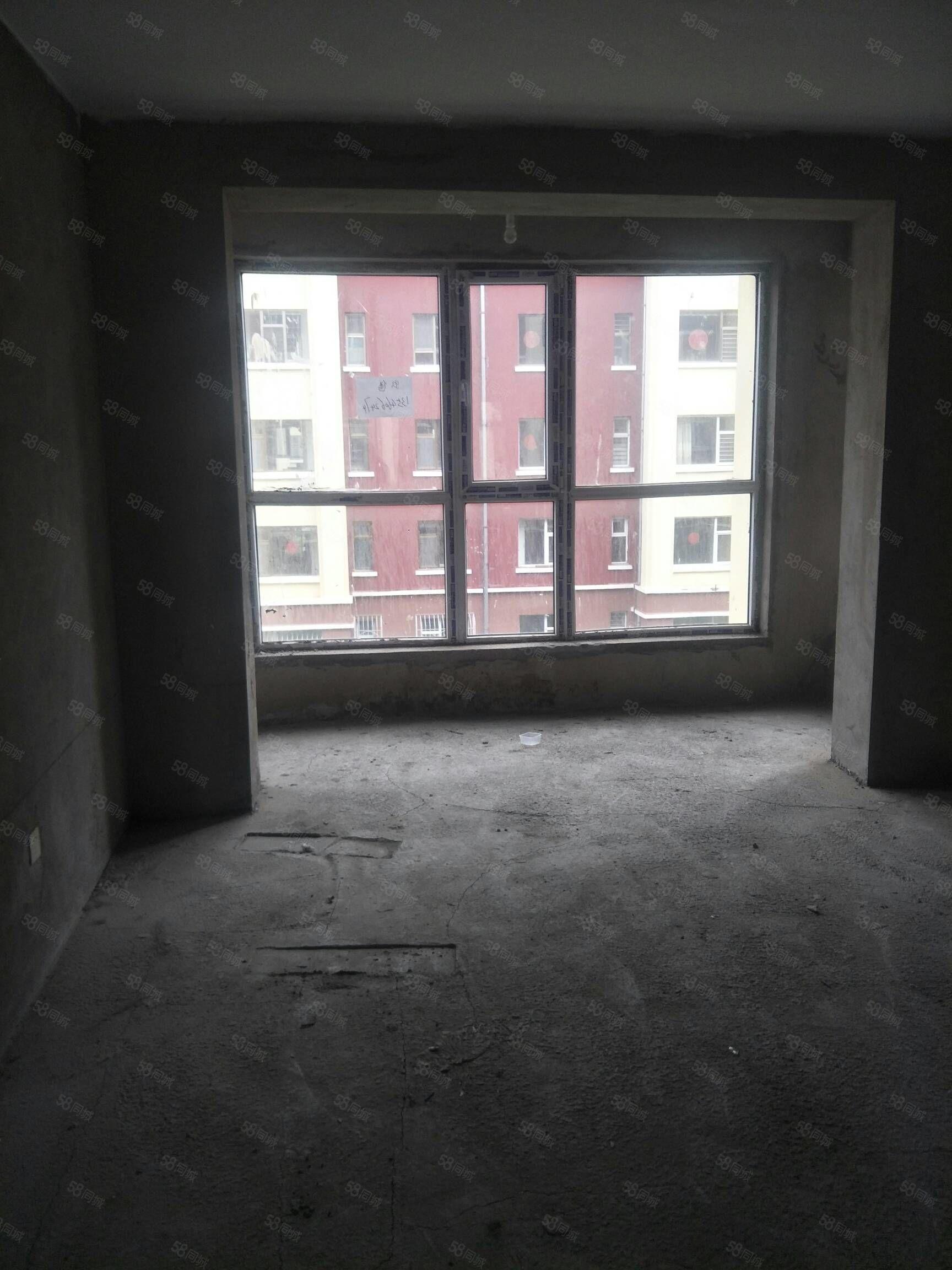 出售朔城區西山庭院3樓毛坯房費用全清雙陽臥陽客廳小區環境優美