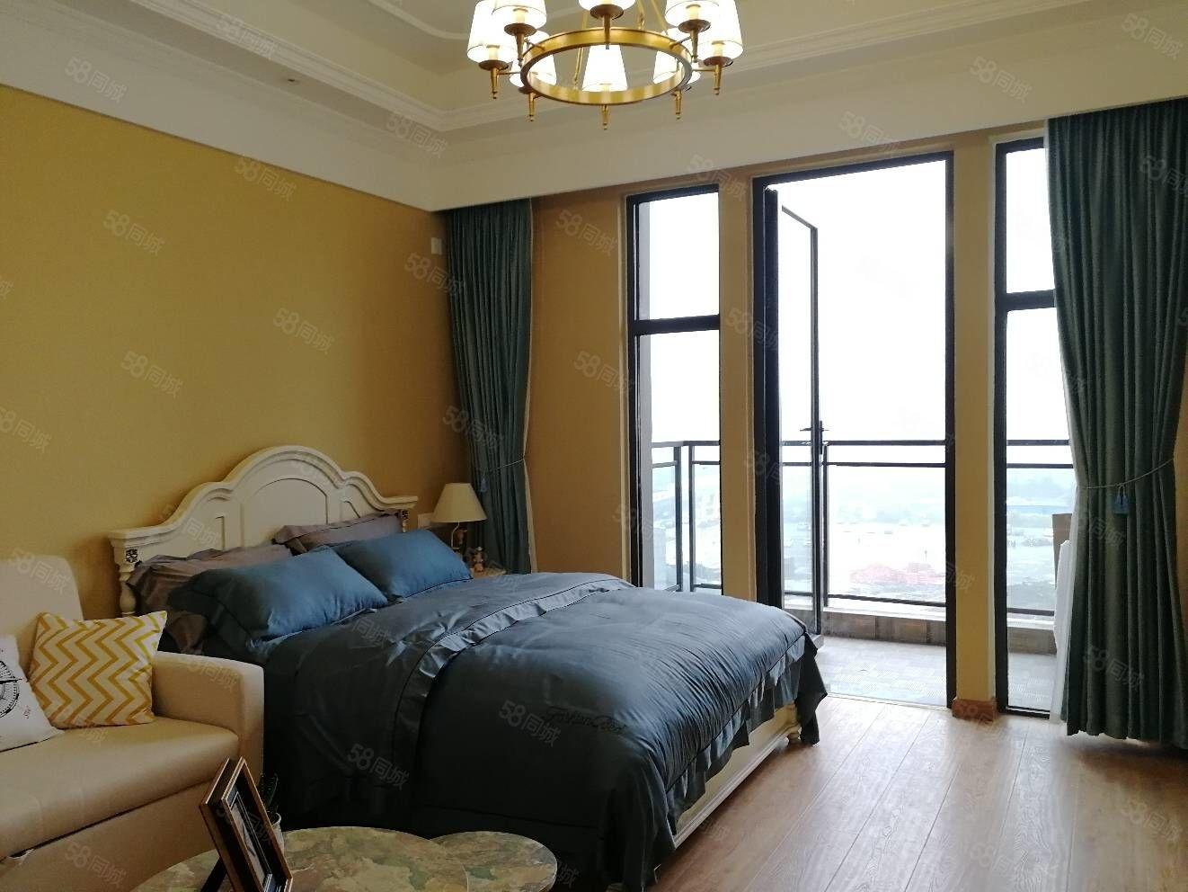 万达精装修公寓,七种风格可选,套一loft套二,线上民宿托