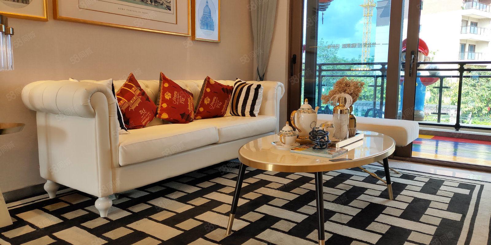 平层豪宅(海棠盛世)精装一线观景,纯板式设计,超大空间利用!
