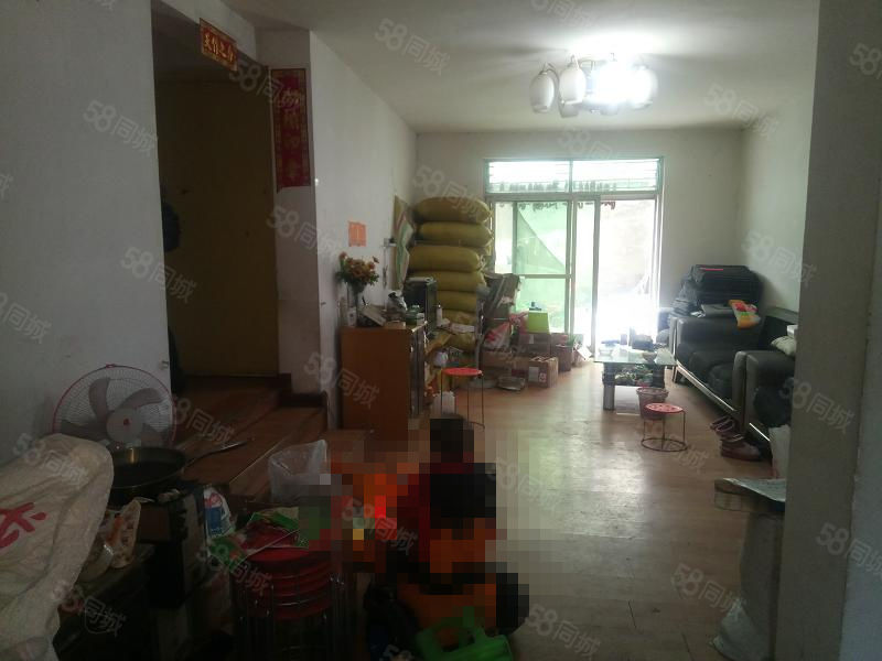 解放街单位房一楼2室2厅1卫中装修带独立小院