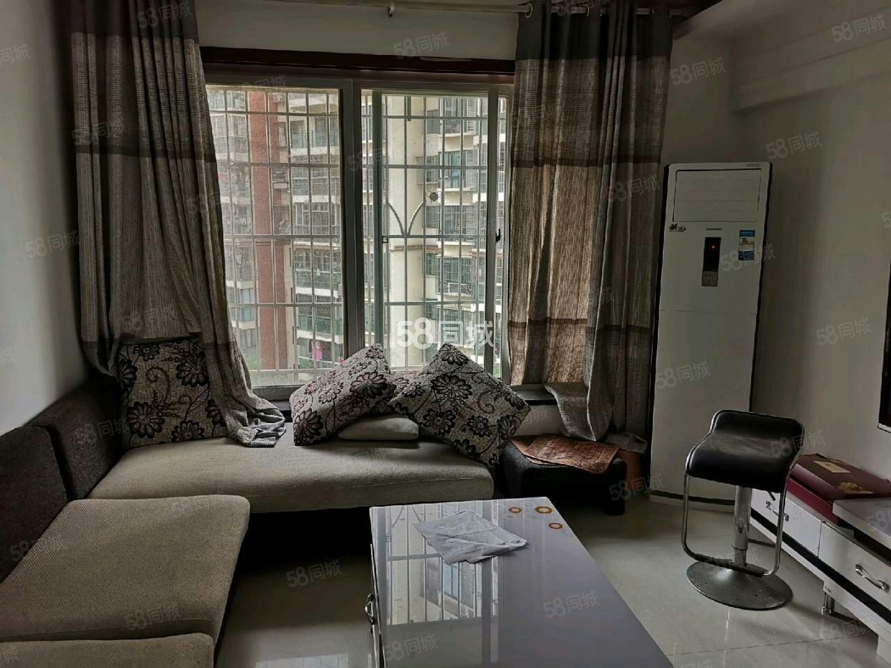 河东龙腾御景3楼2室3个空调真实照家具家电齐全随时看