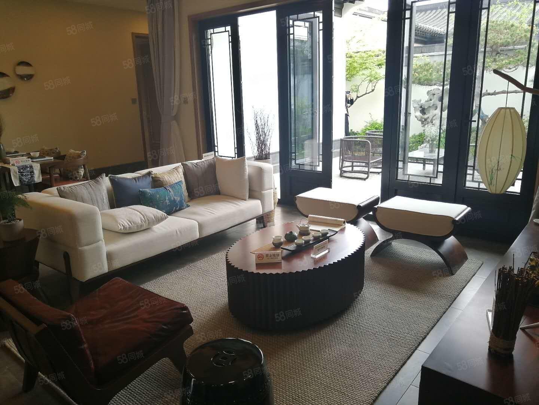 六合开奖莫干溪谷现房精装中式独栋花园300平送中央空调地暖