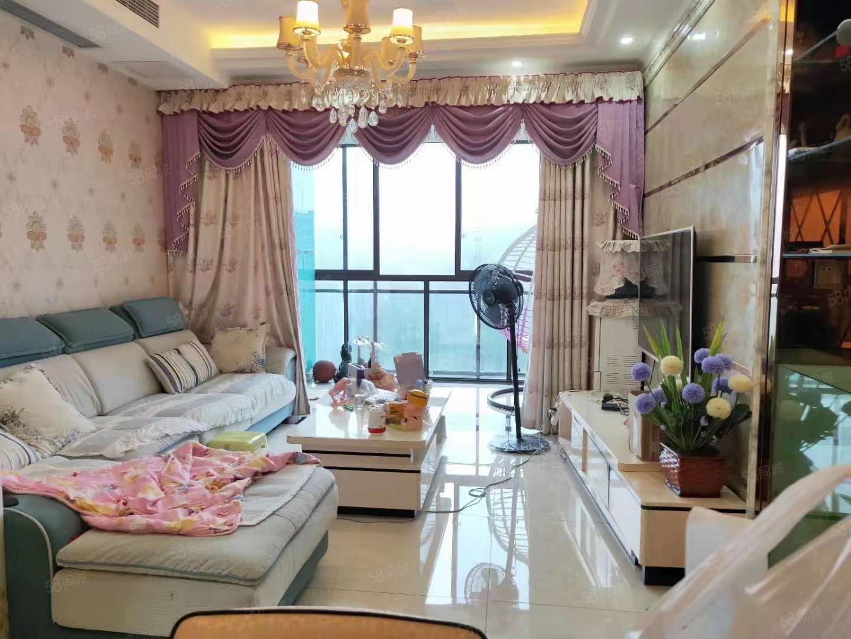 滨江路电梯精装2室仅需65.8万次新小区.配套成熟位置好