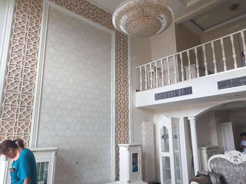 濱河花園頂層復式236平方電梯洋房帶陽光房豪華裝修