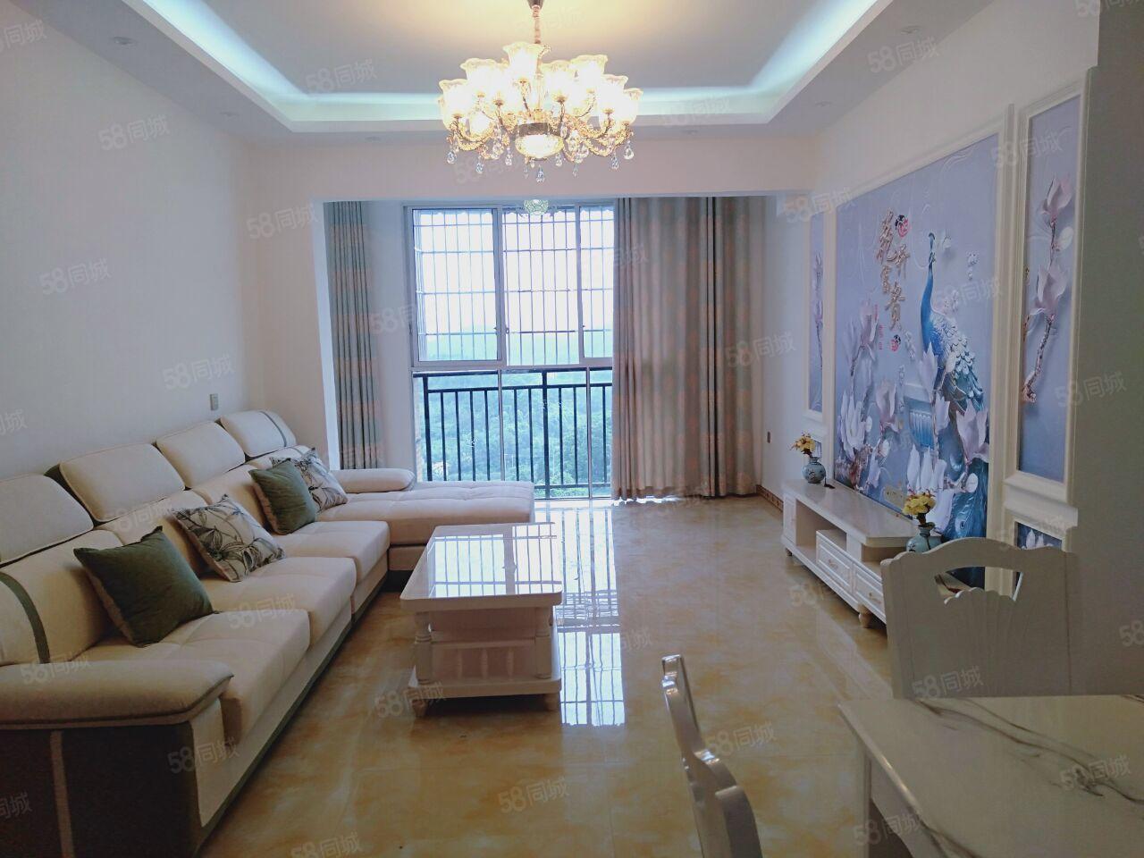 香溪美地电梯20楼3室2厅2卫102平米全新精装修可按揭