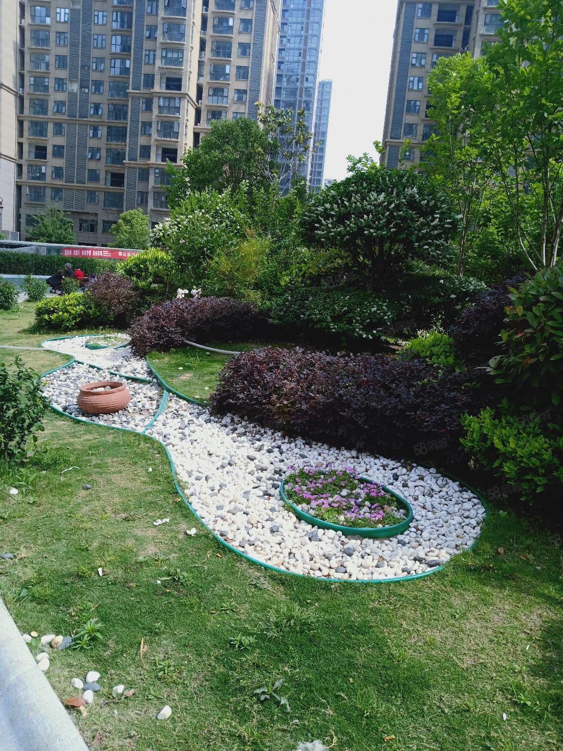新加坡花园,南北通厅通透双阳台,两卧朝阳,全新毛坯,有证