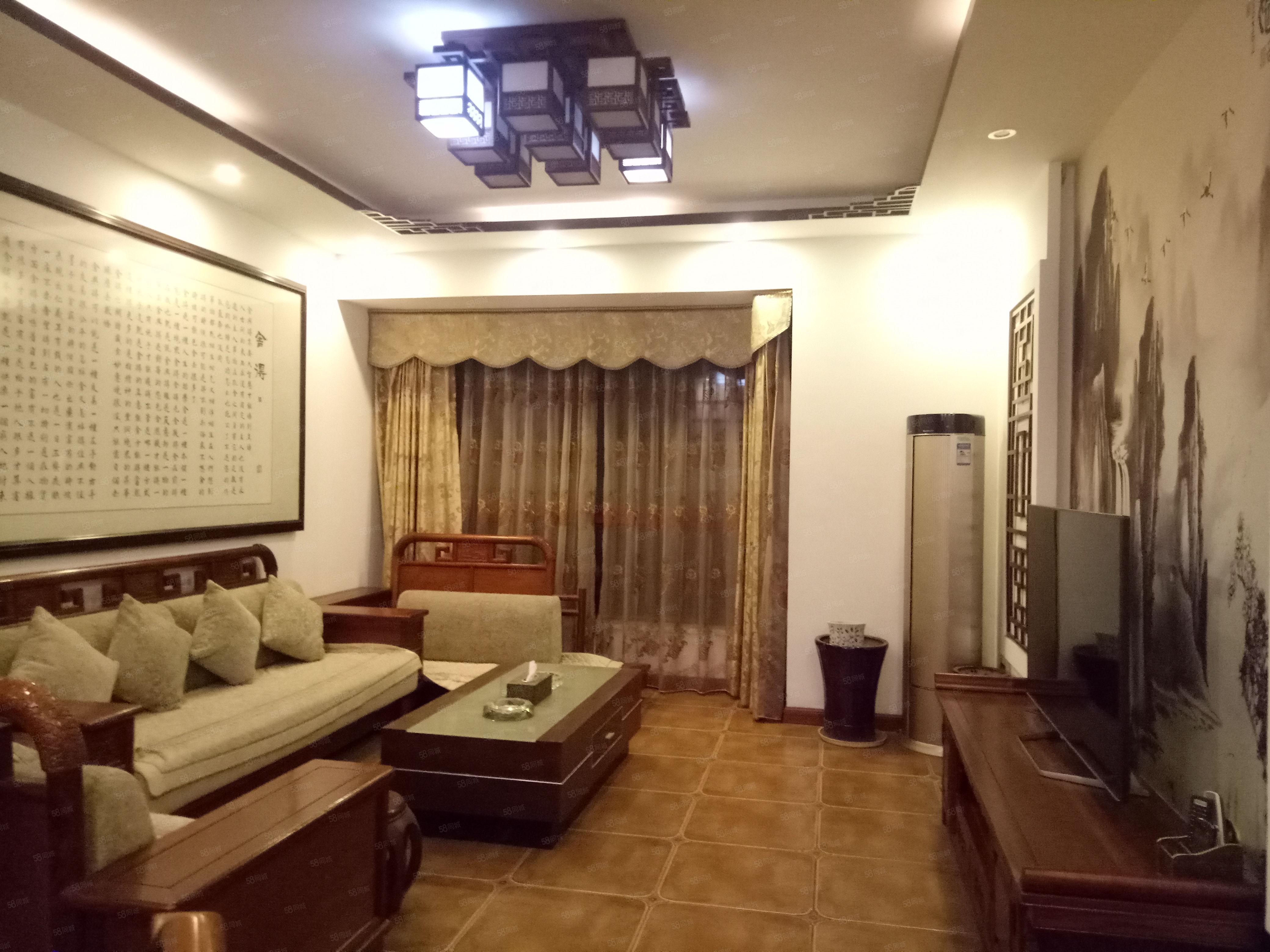 酒城花园豪装4室,实际面积150多,家电家具齐全,急售110