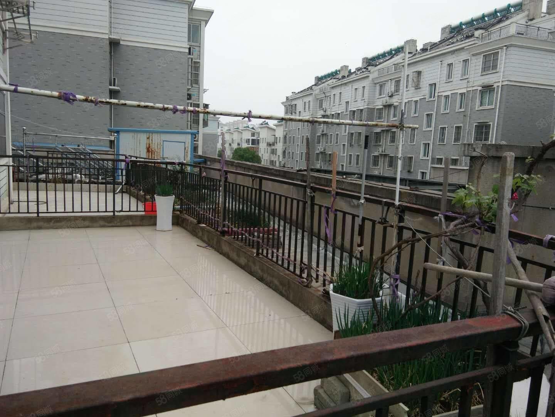 中兴名都三楼有大露台有院子送16.2车库