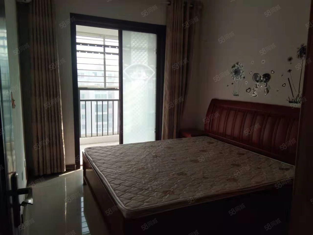 城中央,2室,精装修,家具家电齐全,拎包入住