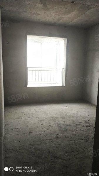 急售竹山绿松石城毛坯三房135平米河景房随时过户
