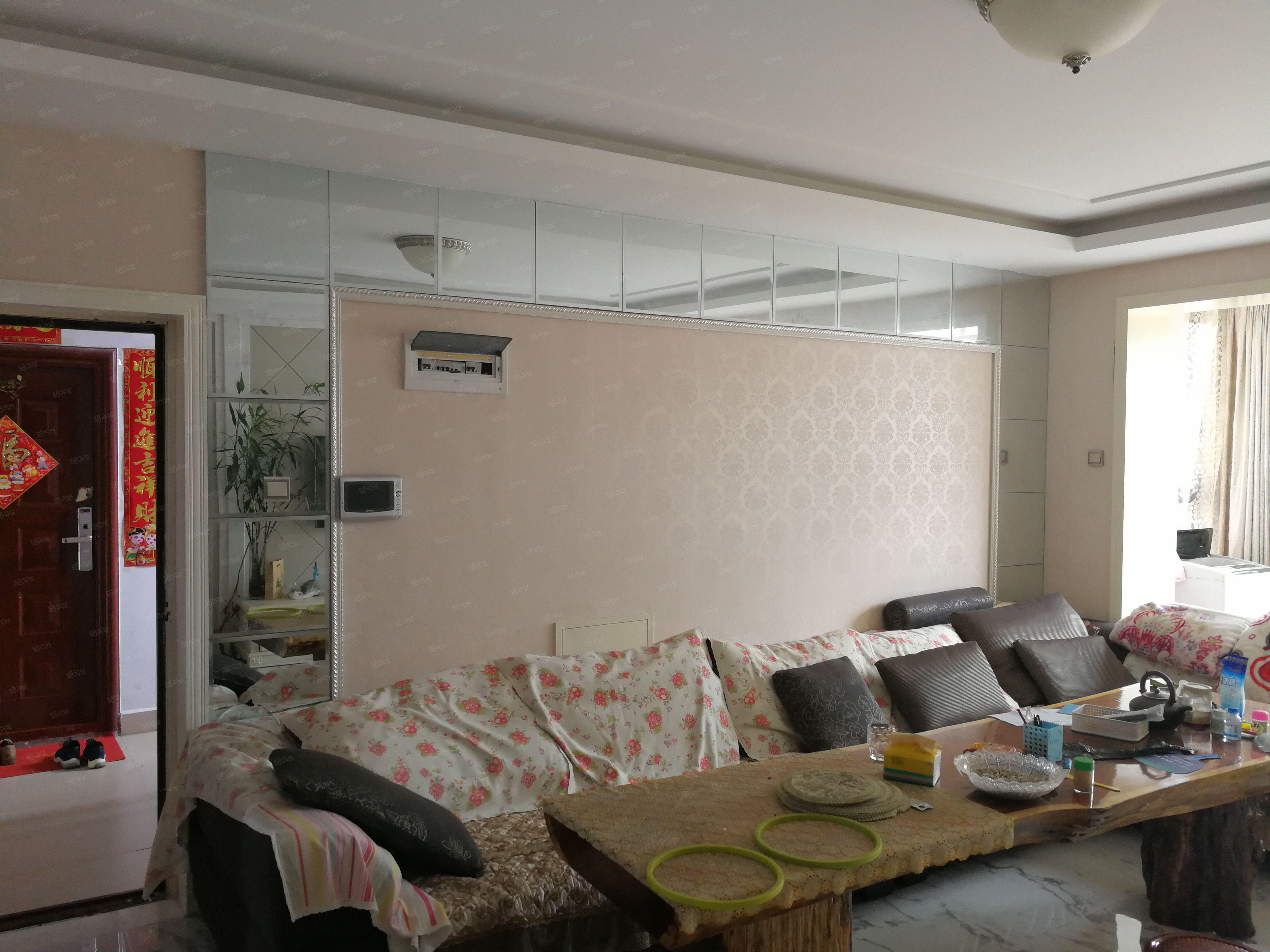 公园一号,豪华装修,新家电家具,高端小区
