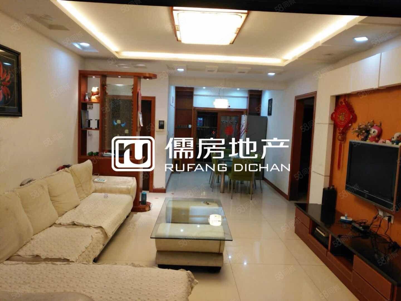 长江花城一期中楼层精装修2室2厅2卫家具家电齐全拎包入住