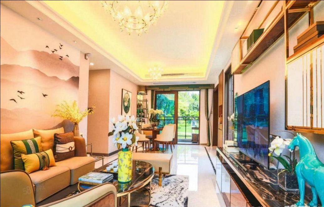 海棠湾(海棠盛世)70年产权,一梯两户精装纯板楼设计风格!