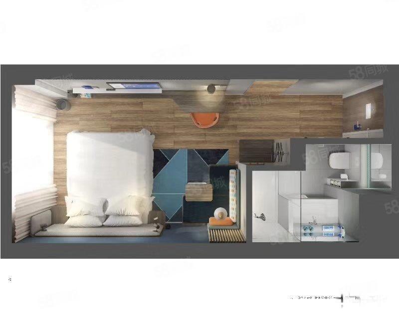 抚仙湖广龙小镇之地精装小公寓带