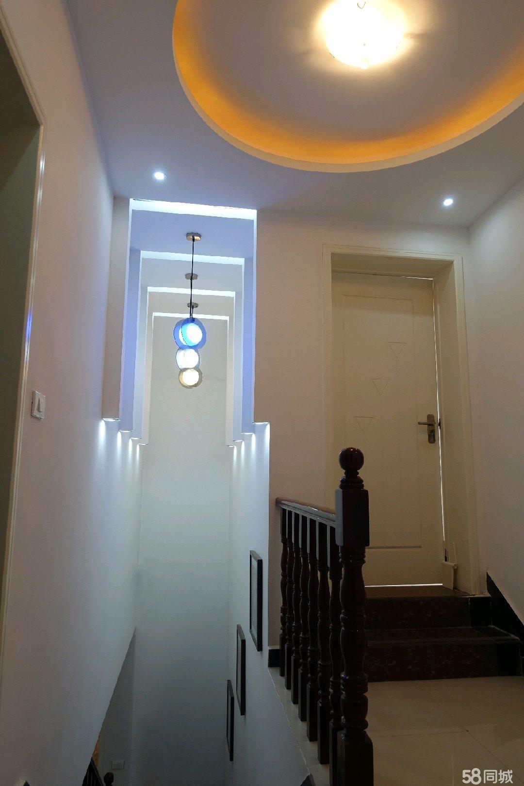 汝阳精装楼中楼,超大露台,有暖气、车库,装修精致简约不土味!