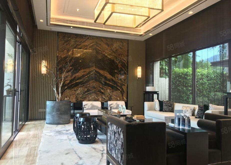 融创海棠湾|品质豪装独栋别墅,简约欧式设计,独立花园泳池车