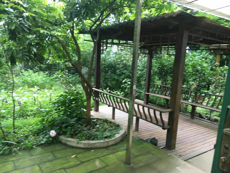 一楼带大花园豪华装修西区江景苑正中庭真正的高端大气