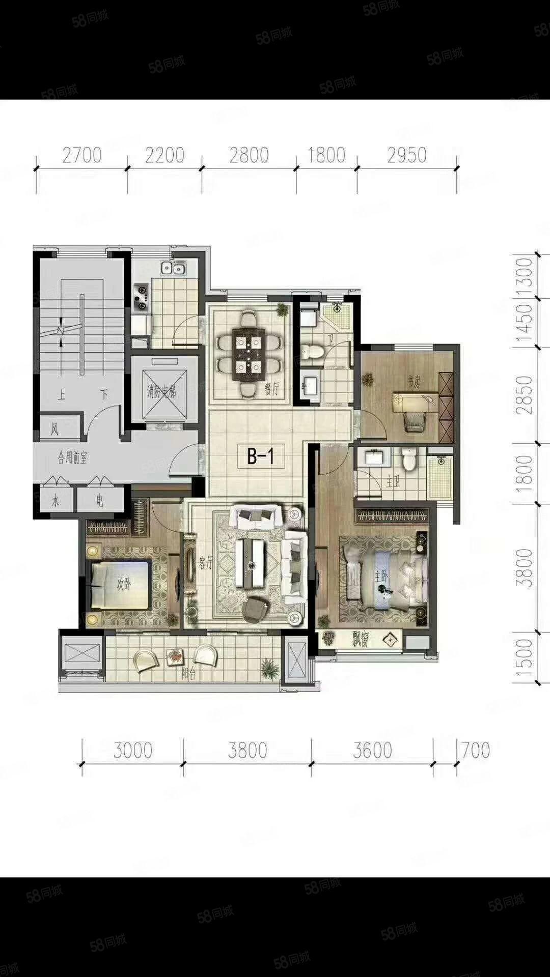 绿城桂语江南楼层适中低于市场价10万首付只要15万