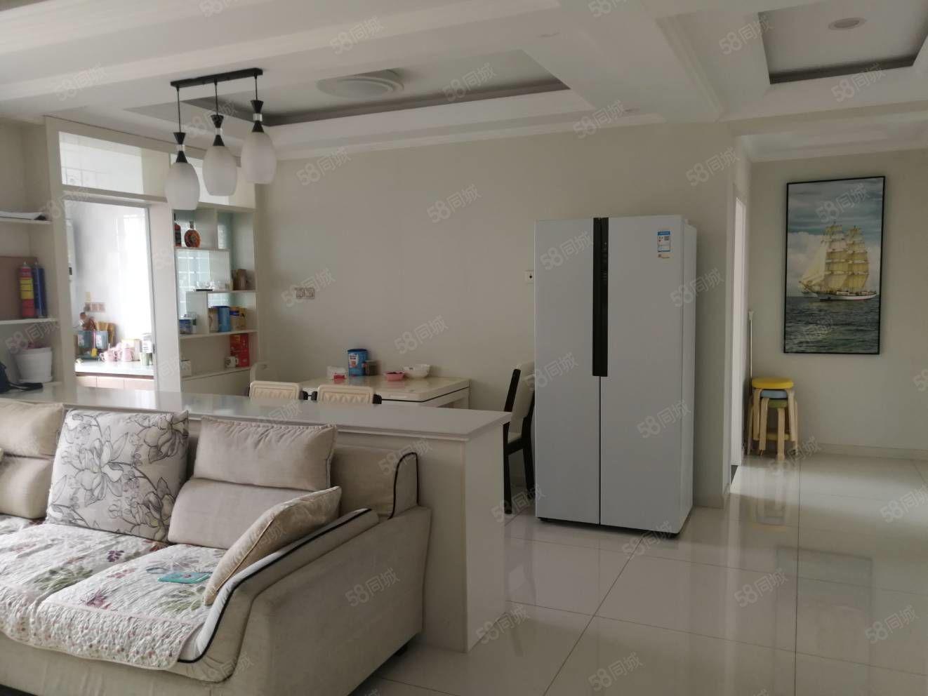 润园98.97平精装两室采光好,包含空调冰箱洗衣机只要75万