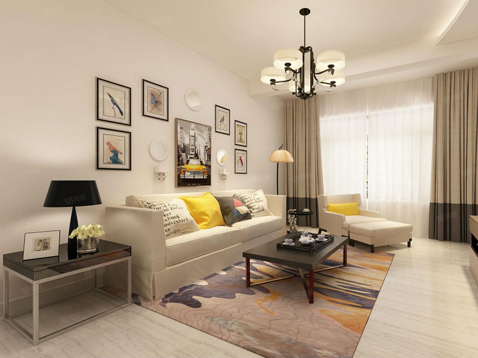 金河湾B区三室两厅毛坯房售楼处手续可贷款