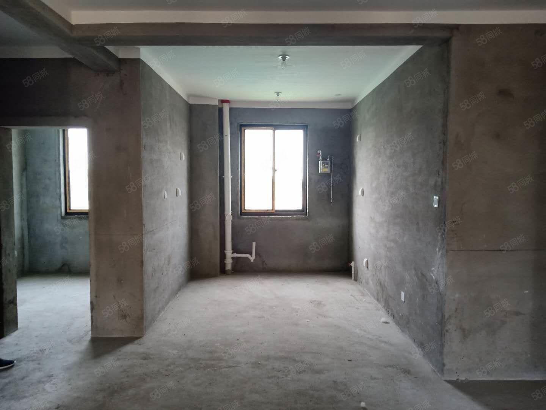 美林湖畔9楼,3室2厅1卫,119.35平,毛坯,58万