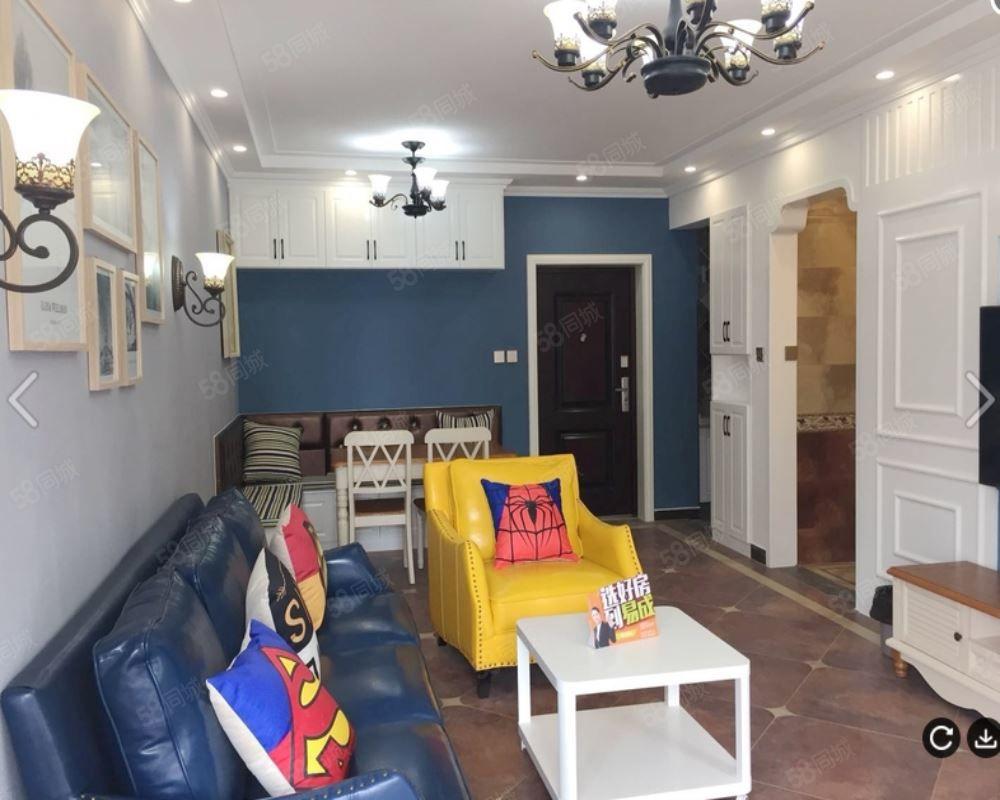 华侨城精装两室,全新家具,长期对外出租,看房随时。