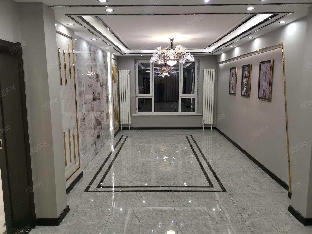 三十四中永安小学丰恒小区正四楼120平米三室一厅精装出售